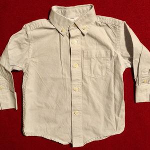 Gymboree Shirts & Tops - Gymboree white and blue check button down shirt